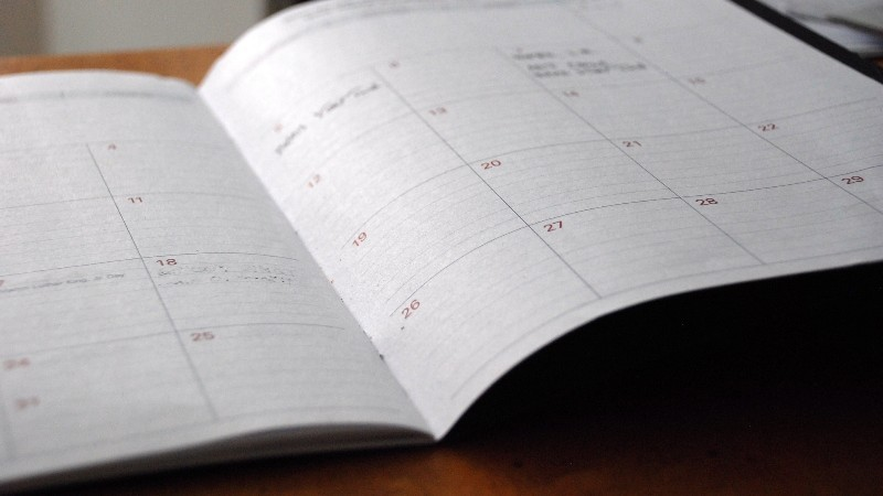 Calendario impegni